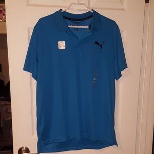 NWT Puma Dry Cell Golf Shirt